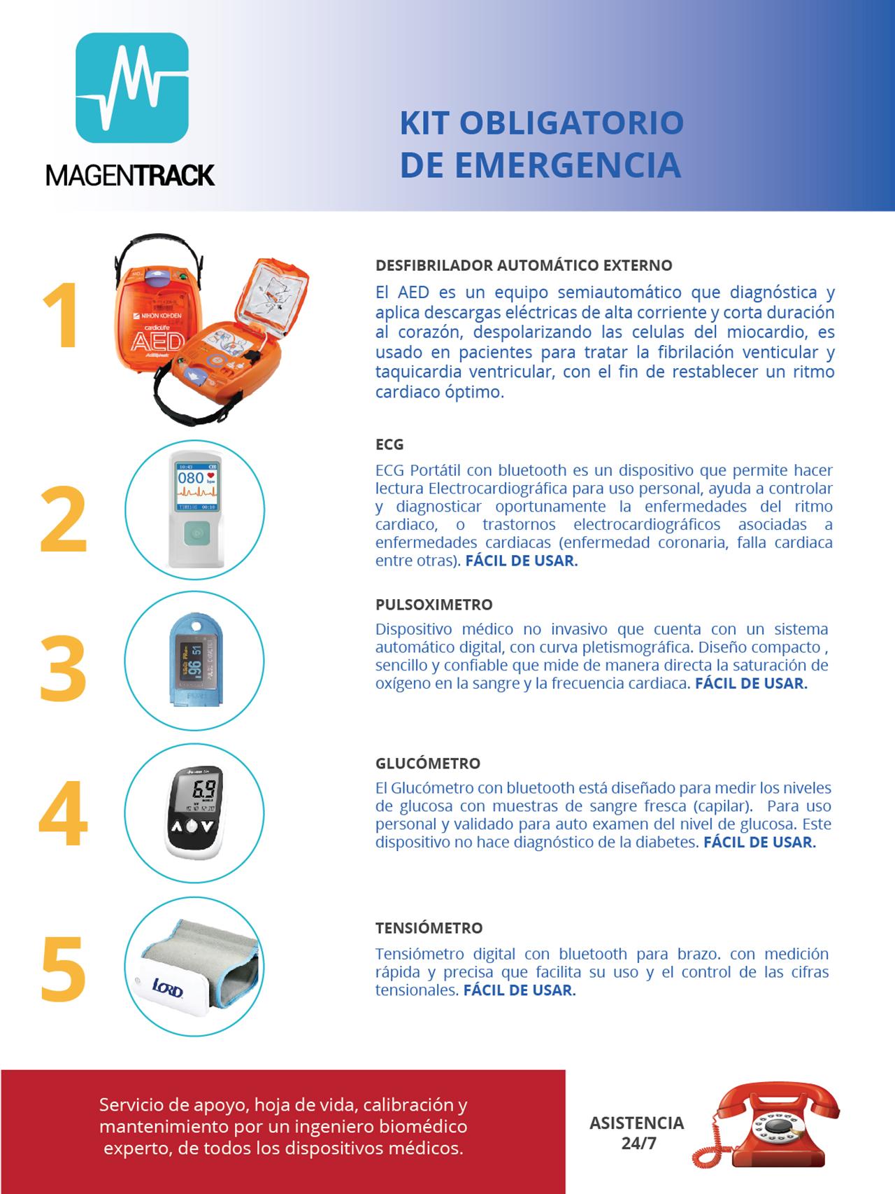 Kit Obligatorio de Emergencia